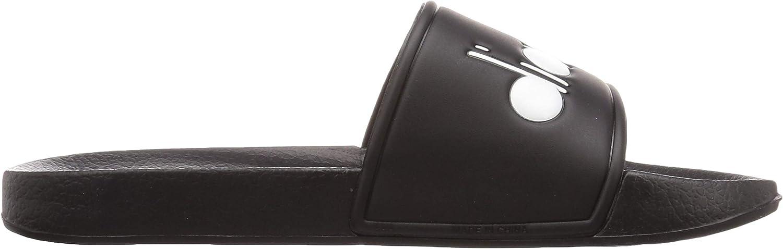 Diadora Homme Serifos 90 Sliders Noir