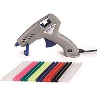 Dremel 930 Hot Glue Gun with Precision Non-Drip Tip, Dual Temperature and 18 Multi-Purpose Glue Sticks for DIY, Home…
