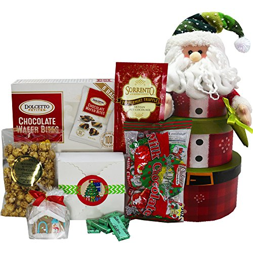 Santa Claus Stacking Christmas Holiday Gift Tower (Gift Stacking)