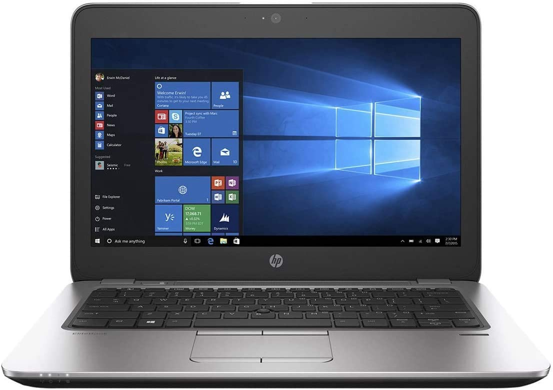 "HP EliteBook 820 G3 12.5"" HD Notebook Intel Core i5 6200U 256GB SSD - 2.8GHz - 8GB DDR4 RAM - Wireless Bluetooth 4.2 Windows 10 Pro bit-64"