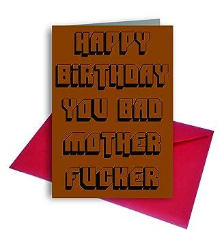 Graffiti birthday greeting cards bc4 bad mother fcker pack of 1 graffiti birthday greeting cards bc4 bad mother fcker pack of 1 m4hsunfo