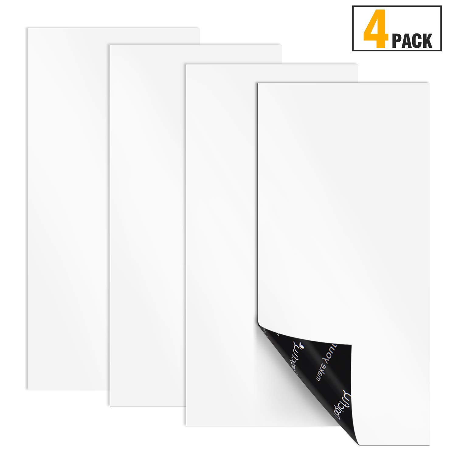 """Magicfly Magnetic Vent Covers, 4 Pack, 12"""" x 5.5"""" Ultra Thick Magnet for Vents in Homes, Air Grills, Registers, RVs, HVAC Units, (Not for Ceiling Or Aluminum Vents)"""