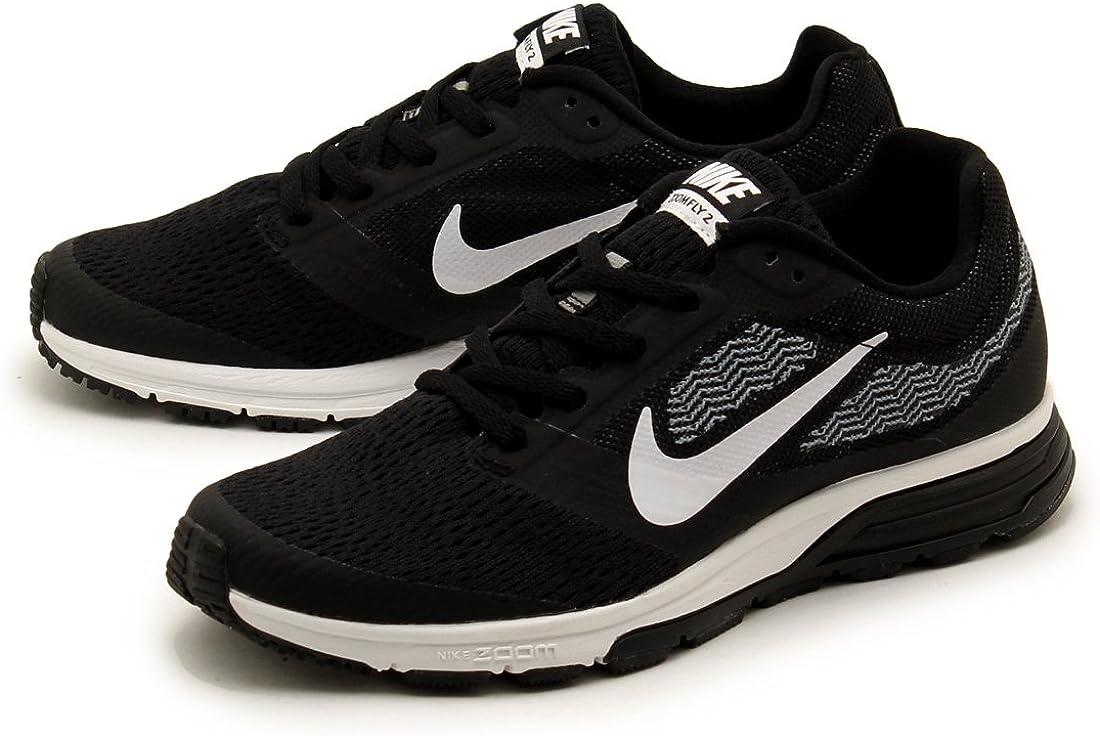 Nike Wmns Air Zoom Fly 2, Zapatillas de Running para Mujer, Negro (Black/White-Cool Blue), 43/44 EU: NIKE: Amazon.es: Zapatos y complementos