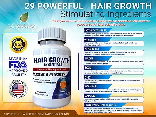 Hair Growth Essentials Supplement For Hair Loss Advanced