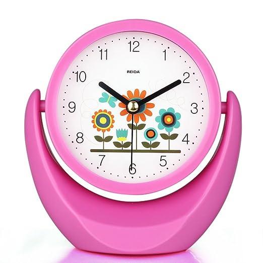 relojes de moda creativa Dormitorio mesita espejo reloj reloj de ...