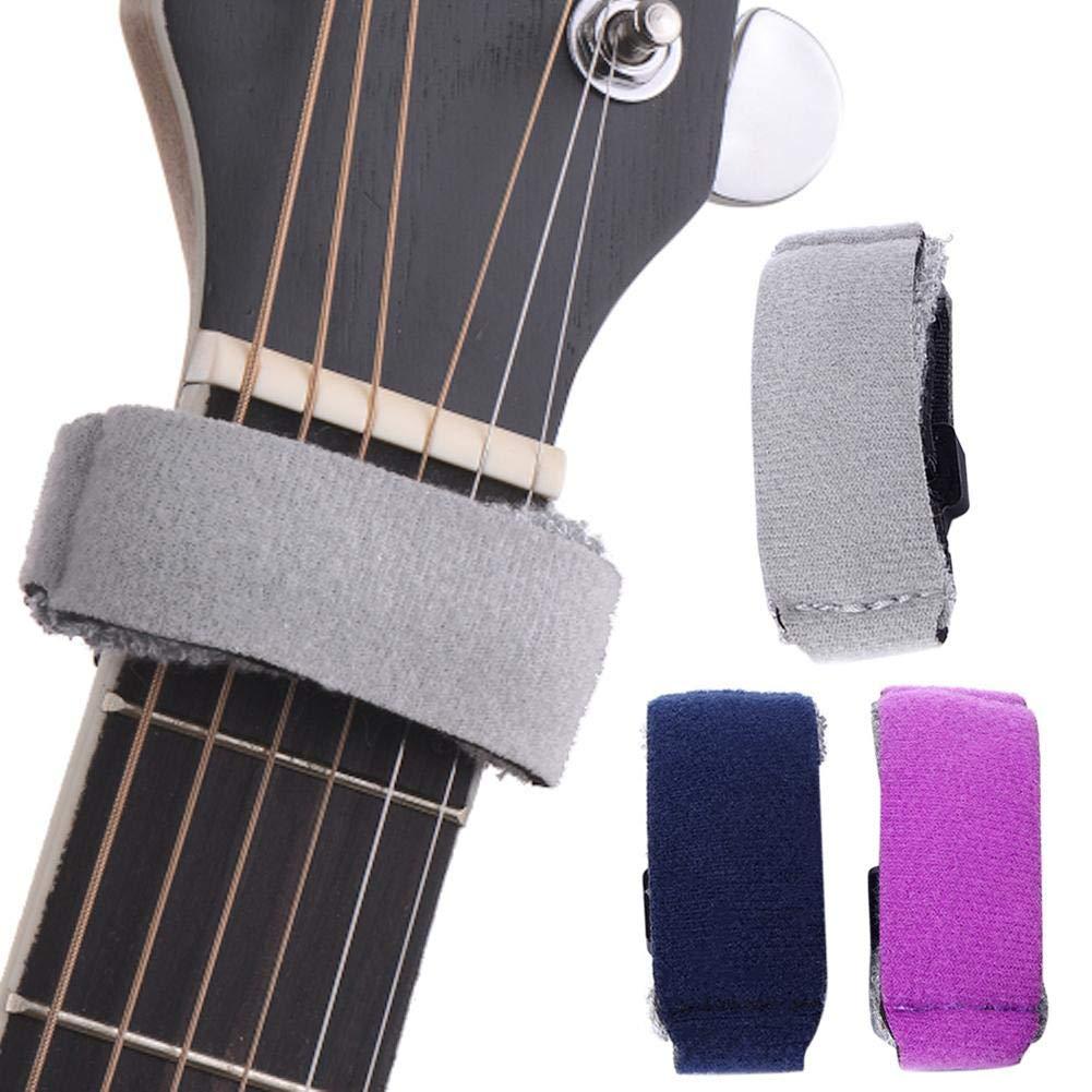 Touche Muter pour Instruments /à Cordes liuxi Guitar Fretwraps Cordes Muettes 6 Guitares Basse Normales pour Point Solo Slap