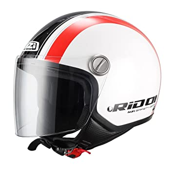 NZI 150262G861 - Casco de Moto Capital Visor Stread Graphics, Talla XS(54)