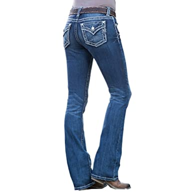 91bf7066d90 Amazon.com: Miss Me Fall in Line Mid-Rise Bootcut Jeans (Size 32,33 ...