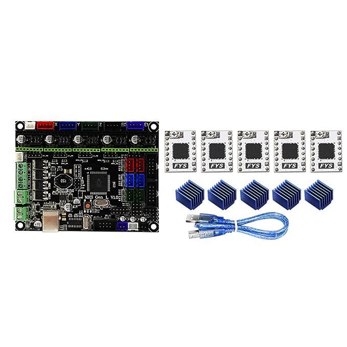 ROKOO Controlador de Impresora 3D MKS Gen-L V1.0 + S109 Driver + ...