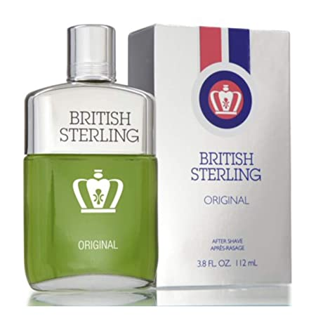 BRITISH STERLING by Dana Men s After Shave 3.8 oz – 100 Authentic