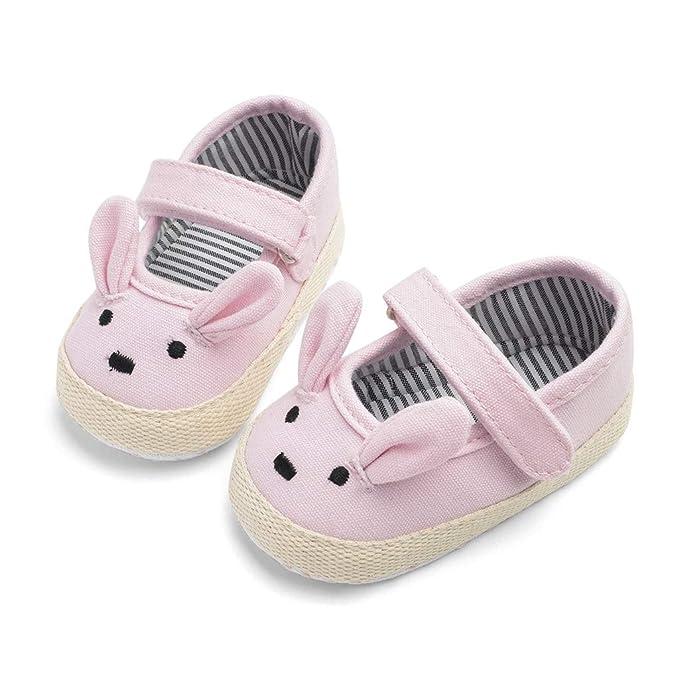 Hokoaidel Zapatos de Bebe,Bebé recién Nacido Conejo de ...