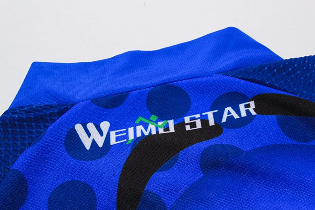 Weimostar Men Cycling Jersey Summer Half Short Sleeve Tight Top