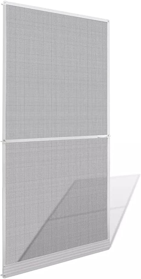 mewmewcat Mosquitera para Puertas Abatibles Blanca 100 x 215 cm: Amazon.es: Deportes y aire libre