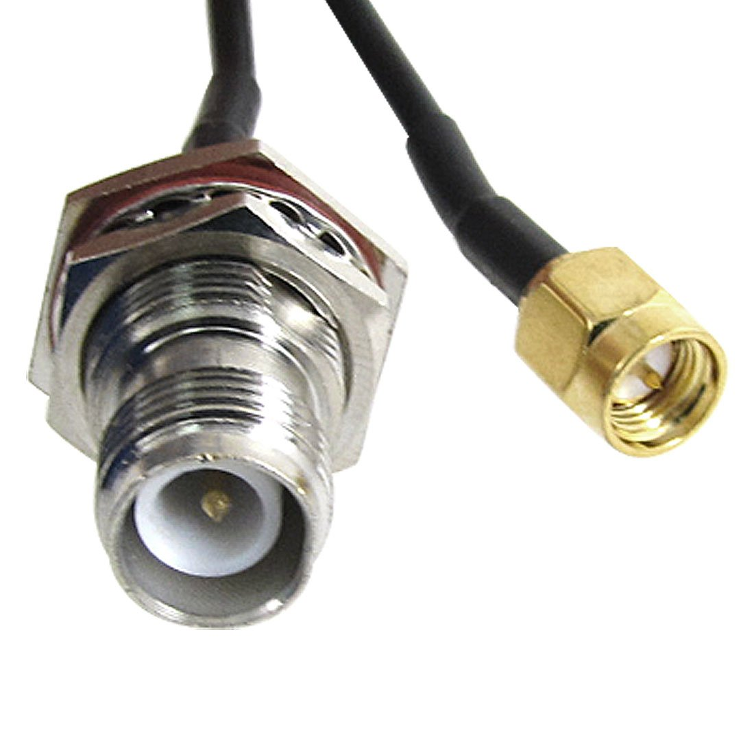 Amazon.com: uxcell SMA Male to RP-TNC Female Adapter Connector RF ...