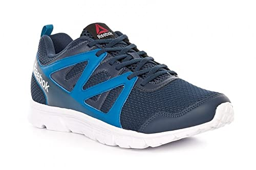 Reebok Run Supreme 2.0, Zapatillas de Running para Hombre, Azul (Coll Navy/Instinct Blue/White), 48 1/2 EU: Amazon.es: Zapatos y complementos