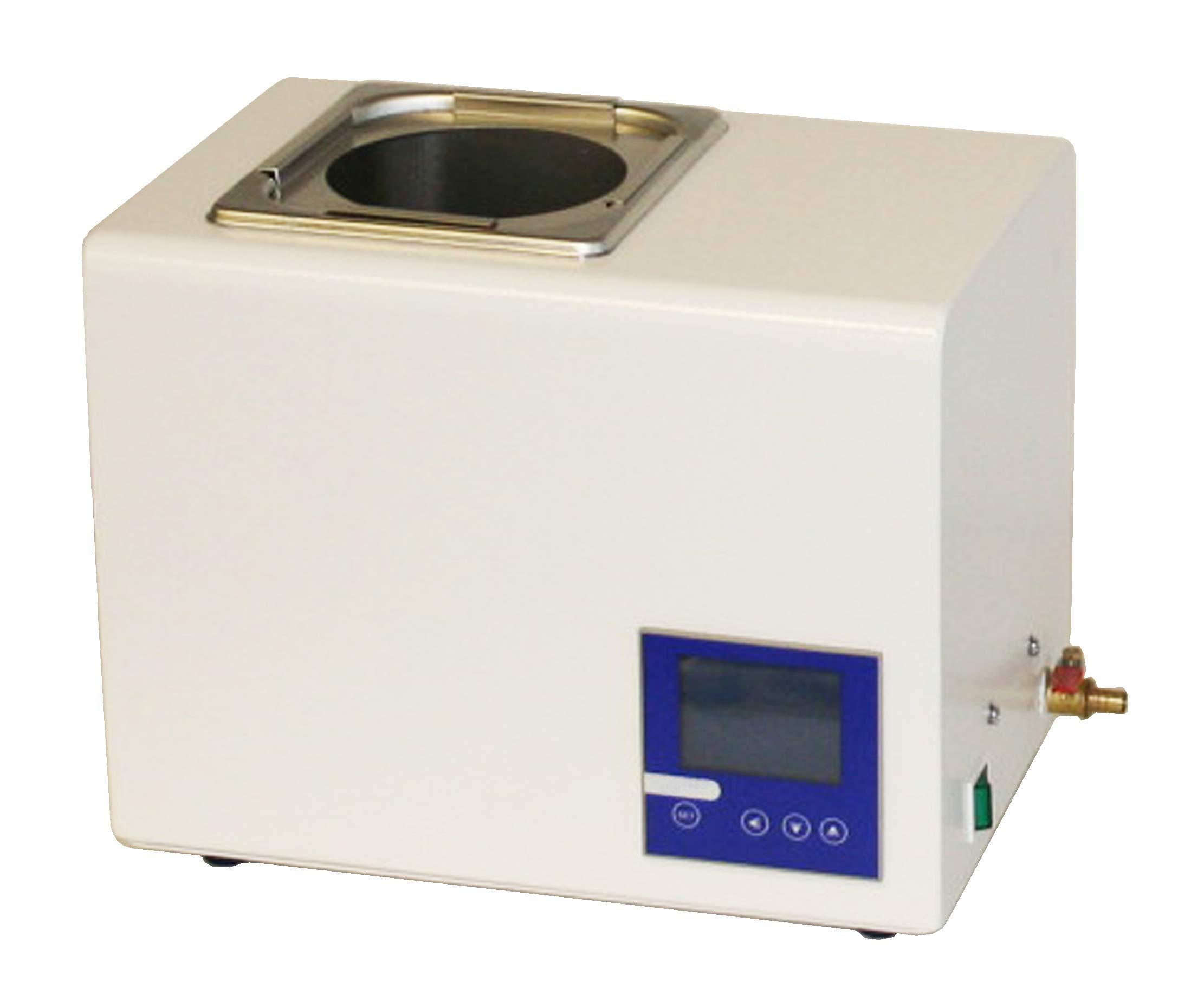 Jackson Global JS-HW-2L Digital Water Bath   Capacity:2 Liter   Temperature Range: 5-99 ºC   Voltage: 110V / 50-60Hz   Temperature Fluctuation: ±0.2 ºC