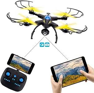 Mini Drone Cuadricópteros con Cámara HD, SHIRUI M50