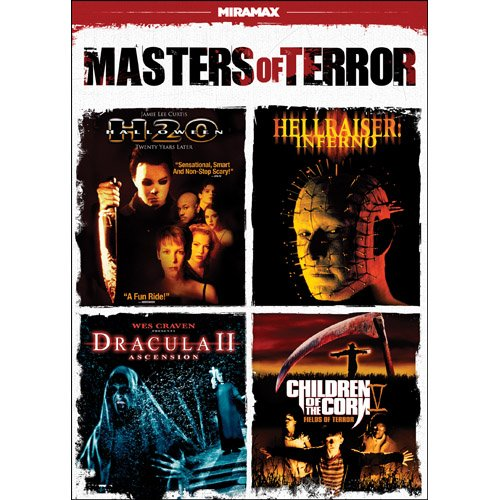 Masters of Terror (Halloween H2O / Hellraiser: Inferno / Dracula II: Ascension / Children of the Corn V: Fields of Terror) (Terror Eyes Halloween Dvd)