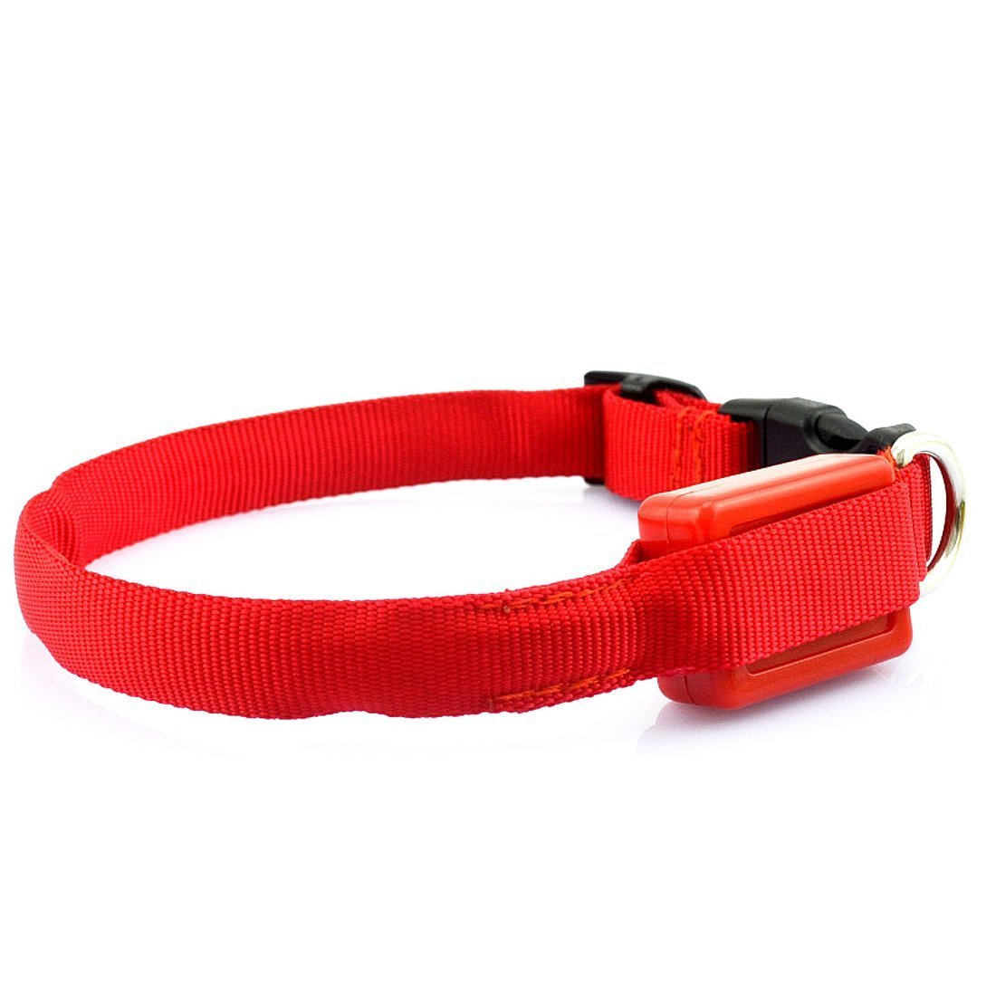 Collier Clignotant LED Taille Réglable Pour Animaux Chien Chat-Rouge Luwu-Store SHOMLU2443
