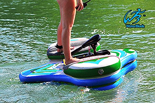 MOTORIZED ELECTRIC SUP - WATERBLADE STINGRAY (GREEN/BLUE)