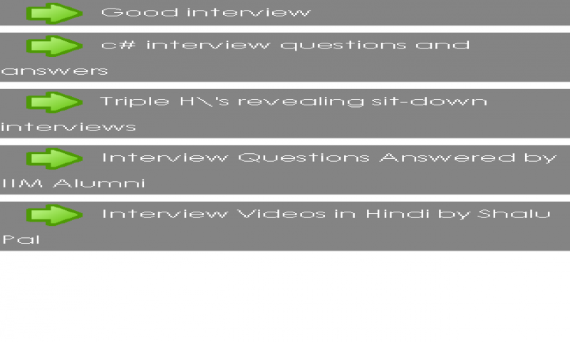 amazoncom objective interview appstore for android