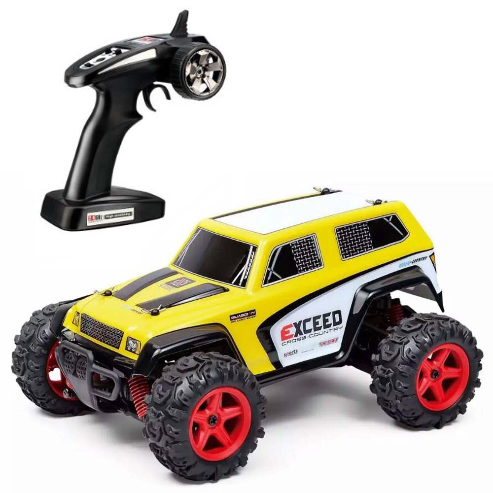 Choosebuy RC Car, SUBOTECH 25MPH 40km/h 1:24 High Speed Scale Off Road Car (Yellow)