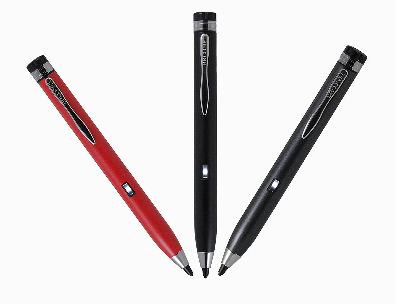 Broonel Grey Fine Point Digital Active Stylus Pen Compatible with The Dragon Touch V10 10 inch GPS Android Tablet