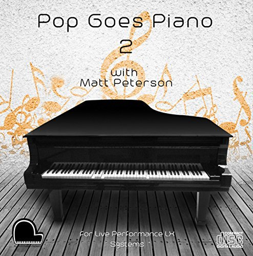 Pop Goes Piano 2 - LX Live Performance System Compatible Player Piano CD