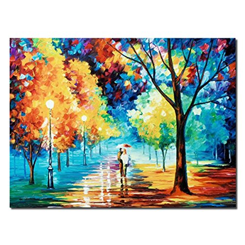 21fc2a1112 JRMISSLI canvas wall art rain Rain s Rustle Hand Painted Painting Oil  Painting On Canvas For Abstract