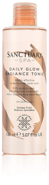 Sanctuary Spa Daily Glow Radiance Tonic Exfoliating Glycolic Toner, 150 ml PZ Cussons Beauty 100103464