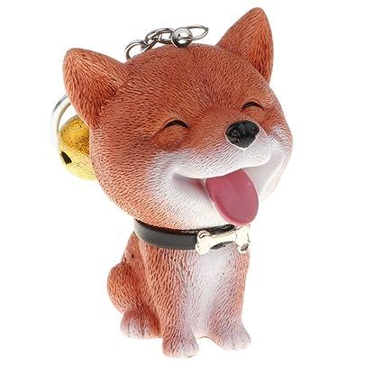 Sharplace Llavero Colgante de Perro con Campana Regalo de ...