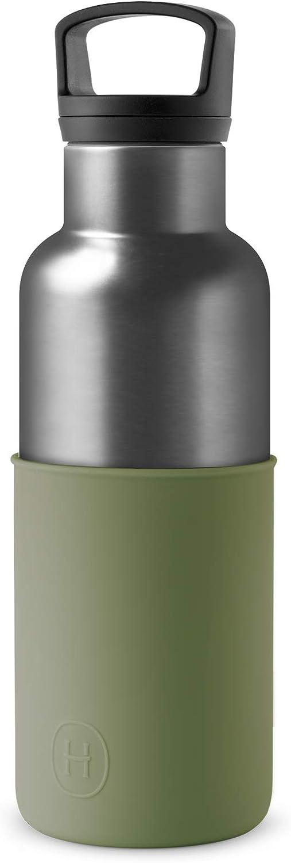 Acero Inoxidable 590 Mil/ímetros HYDY Botella De Agua Termo con Aislamiento Doble Capa Sellado al Vac/ío Libre De BPA Conserva la Temperatura por M/ás Tiempo