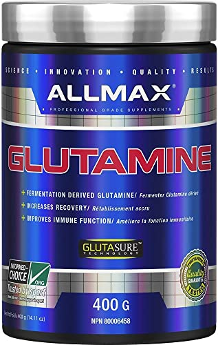 ALLMAX Nutrition 100 Pure Micronized Glutamine, 14.1 oz 400 g