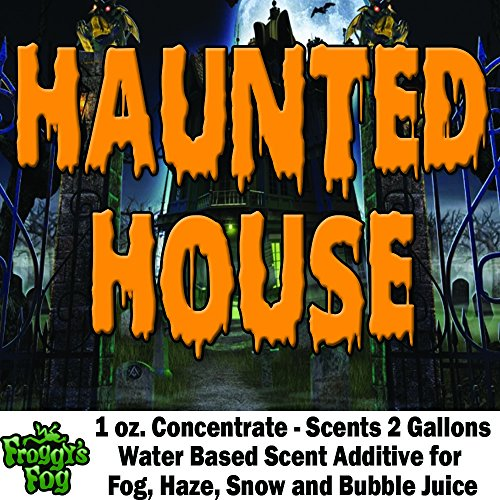1 oz. HAUNTED HOUSE - Water Based Scent Additive for Fog, Haze, Snow & Bubble Juice - Scents 2 Gallons for $<!--$14.99-->