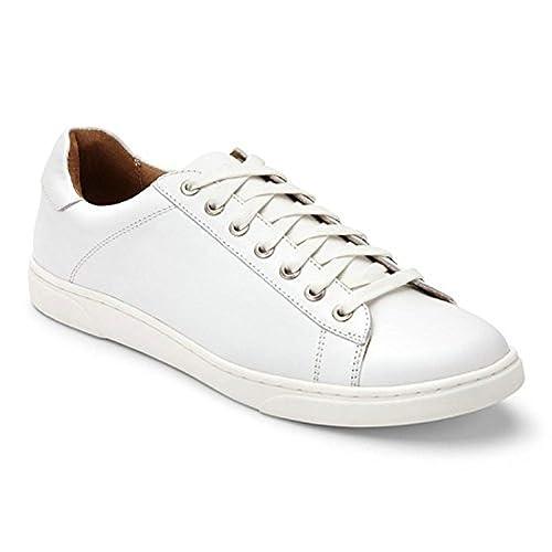 994ef73e83861 Vionic Mott Baldwin - Men's Leather Lace-up Shoe White: Amazon.ca: Shoes &  Handbags