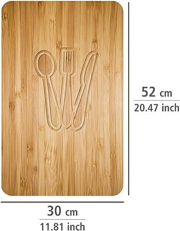 Wenko Juego de Cubiertas de Cocina, Multicolor, 52x30x4.5 cm, 2 Unidades