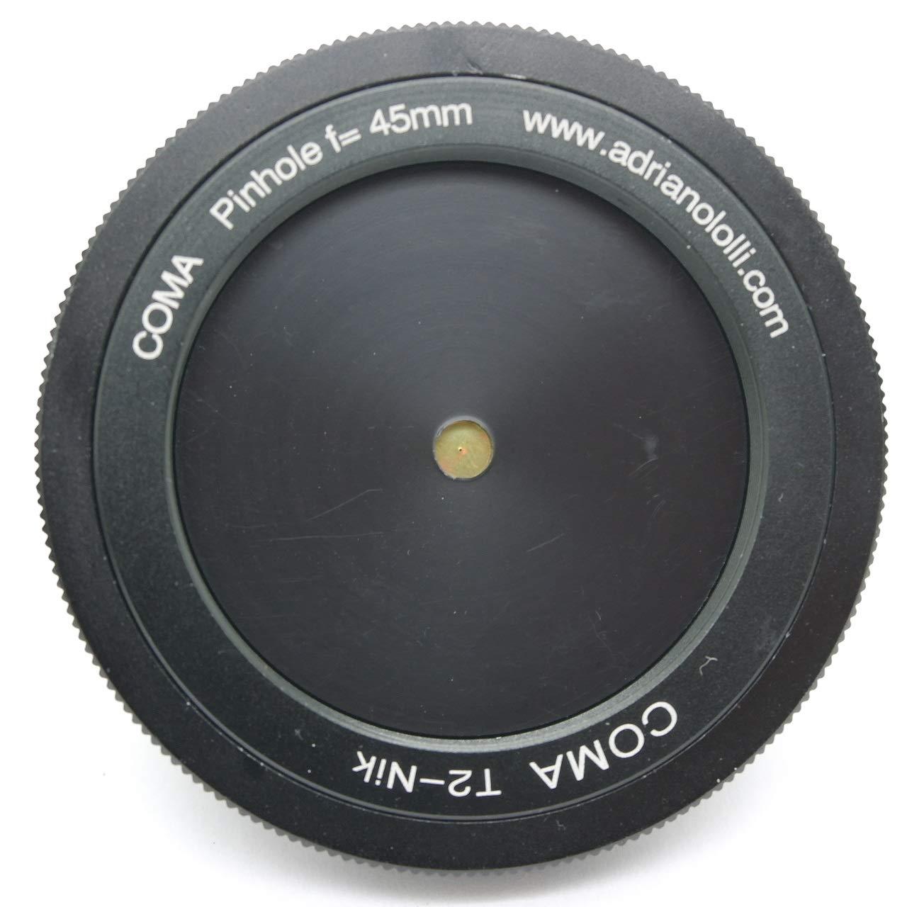 Objetivo con Orificio estenopeico pinhole c/ámara Oscura para Nikon Focal 45 mm