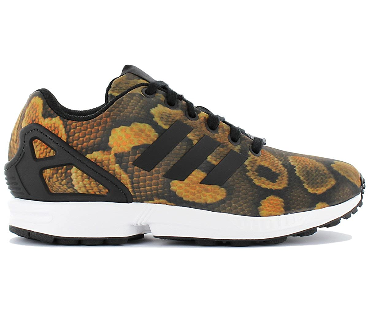 online store 62340 3e655 adidas Women s Originals Zx Flux Trainers in Core Black  Amazon.co.uk  Shoes    Bags