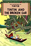 Front cover for the book The Broken Ear by Hergé