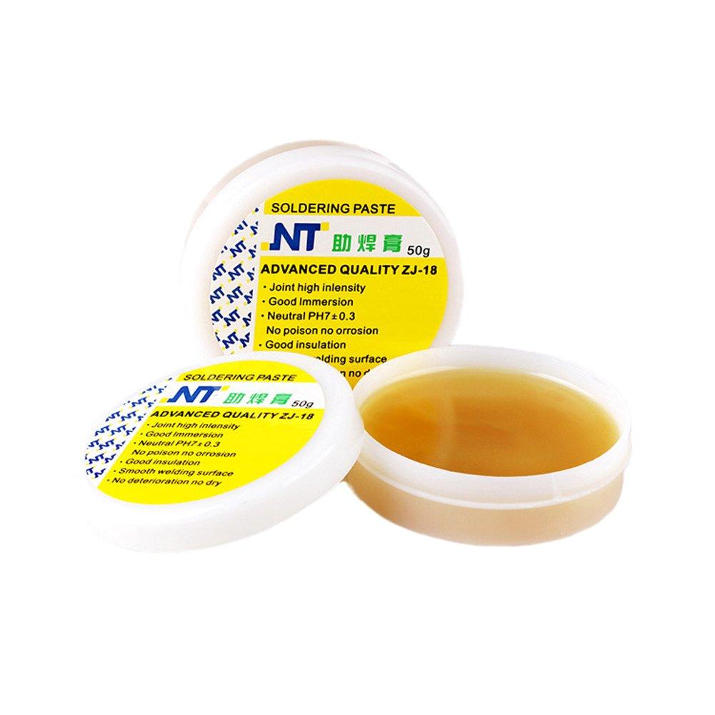 Pasta de soldadura para soldadura electró nica, sin plomo, 50 g/set Wide.ling