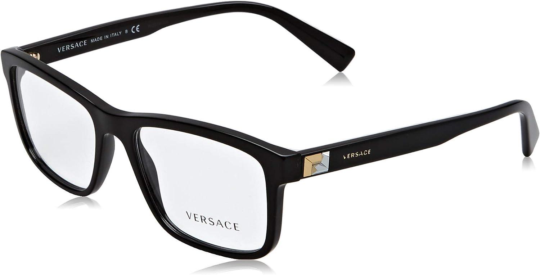 Versace Glasses Frames 3253 GB1 Black 55mm Mens