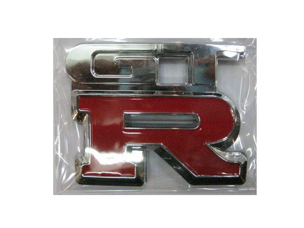 GTR Size:7 cm Plastic Emblem Auto Car Accessories By Chrome 3D Badge 3M Adhesive