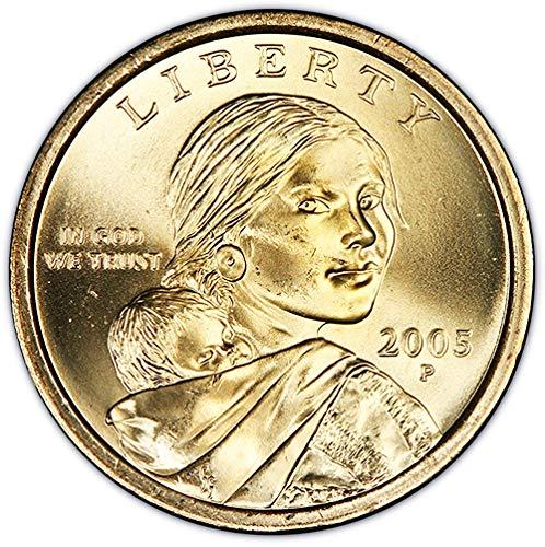 2005 P BU Sacagawea Dollar Choice Uncirculated US Mint