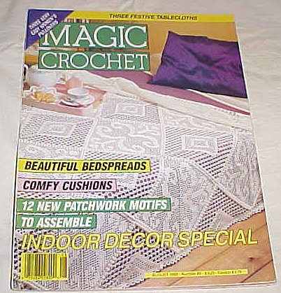 Magic Crochet Magazine August 1993 Number 85 -