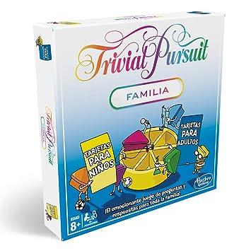 Trivial Pursuit Familia Hasbro Gaming Hasbro E1921105 Amazones