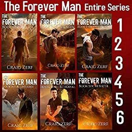 The Forever Man Box Set - 6 Books: The Complete First Series by [Zerf, Craig]