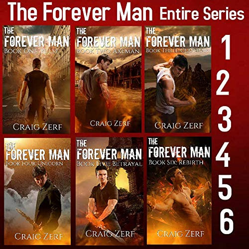 The Forever Man Box Set - 6 Books: The Complete First Series ()
