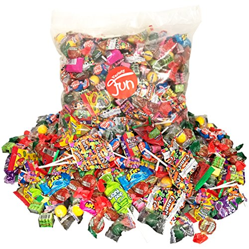 Premium Party Candy Bag Assortment Bulk Value (5 lbs/80 oz) (Pumpkin Hard Candy)