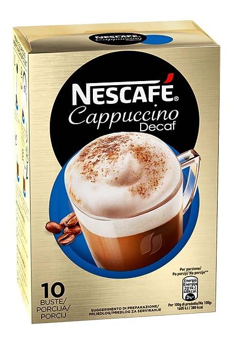 27 opinioni per Nescafé Cappuccino Decaffeinato Preparato Solubile in Polvere con Caffè e Latte
