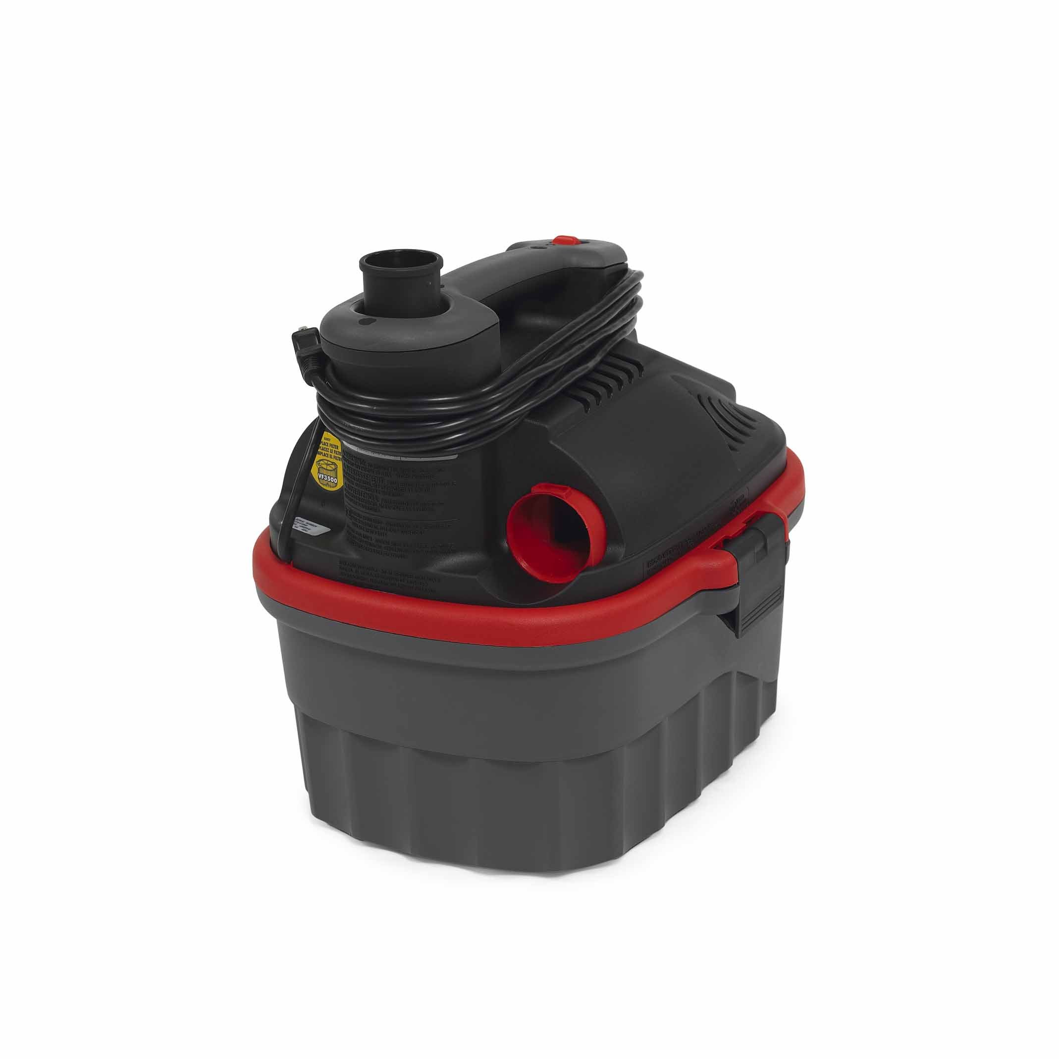 Ridgid 50313 4000RV Wet/Dry Vacuum, 4 gal, Red by Ridgid (Image #4)